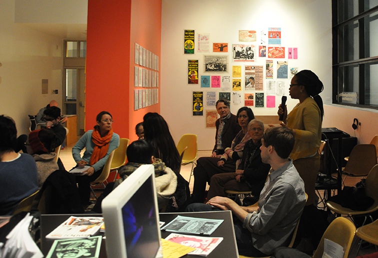 Public discussion on the Sexing Sound: Oral Archives and Feminist Scores exhibition